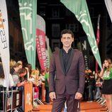 El actor Nacho Fresneda, del 'Ministerio del Tiempo', posa en la celebración del FesTVal