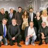 El equipo de 'El Ministerio del Tiempo' posa en el photocall de la IX edición del Festval