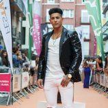 Ferre, participante de 'MTV Super Shore 3', posando en la alfombra naranja del FesTVal
