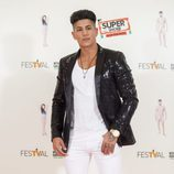 Ferre, participante de 'MTV Super Shore 3', en el photocall del FesTVal