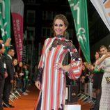 Silvia Alonso en la alfombra naranja del FesTVal para la presentación de 'Tiempos de guerra'