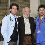 Álvaro de Luna en 'Hospital Central' con Roberto Drago y Antonio Zabálburu