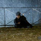 Gorka bajo la lluvia en 'Física o Química'