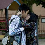 Angy Fernández y Andrés Cheung se besan en 'FoQ'