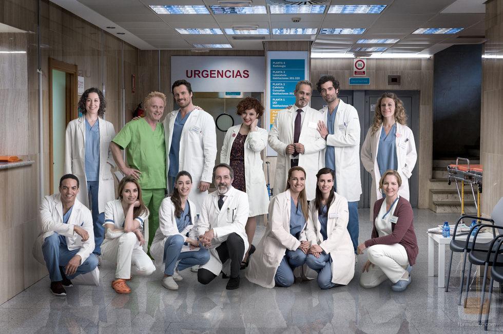 Imagen promocional de la séptima temporada de 'Centro médico'