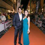 Aitor Luna y Andrea Duro, actores de 'La catedral del mar', en el FesTVal de Vitoria