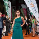 Julia Carnero, actriz de 'La catedral del mar, en el FesTVal de Vitoria
