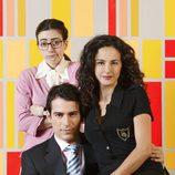 Ruth Núñez, Alejandro Tous y Mónica Estarreado en la serie 'Yo soy Bea'