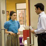 Alejandro Tous y Ruth Núñez hablan juntos en el despacho de Álvaro Aguilar en 'Yo soy Bea'