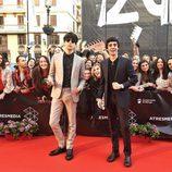 Los Javis, en la alfombra roja del Festival de Cine de Málaga