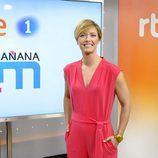 María Casado, presentadora de 'La Mañana de La 1'