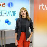 Macarena Berlín, presentadora de 'Saber vivir'