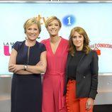 Inés Ballester, María Casado y Macarena Berlín en la presentación de sus programas