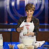 Anabel Alonso cocinando en 'MasterChef Celebrity 2'