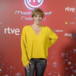 Anabel Alonso posa en la presentación de 'MasterChef Celebrity 2'