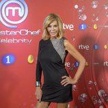 Bibiana Fernández en el photocall de 'MasterChef Celebrity 2'