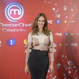 Eva González en la presentación de 'MasterChef Celebrity 2'