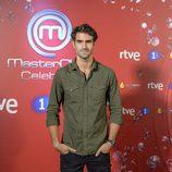 Juan Betancourt en el photocall de 'MasterChef Celebrity 2'