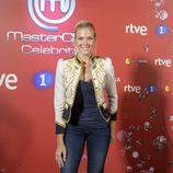 Patricia Montero posando en el photocall de 'MasterChef Celebrity 2'