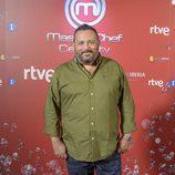 Pepón Nieto en la presentación de 'MasterChef Celebrity 2'