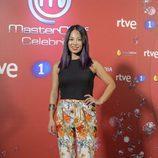 Usun Yoon posa en el photocall de 'MasterChef Celebrity 2'