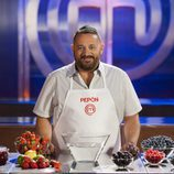 Pepón Nieto en las cocinas de 'MasterChef Celebrity 2'