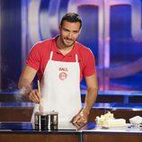 Saúl Craviotto cocina en 'MasterChef Celebrity 2'