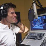 Luis Larrodera en la grabación de 'Ven a cenar conmigo'