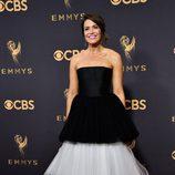 Mandy Moore en la alfombra roja de los Premios Emmy 2017