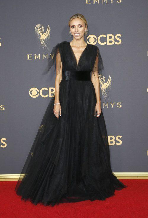 Giuliana Rancic en la alfombra roja de los Premios Emmy 2017
