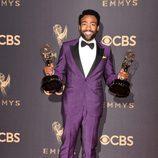 Donald Glover galardonado en los Premios Emmy 2017