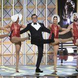 Stephen Colbert  se convierte en bailarín en los Emmy 2017