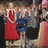 Shailene Woodley, Nicole Kidman, Reese Witherspoon, Laura Dern y Zoe Kravitz en la gala de los Emmy 2017