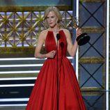 Nicole Kidman  da su discurso en los Emmy 2017