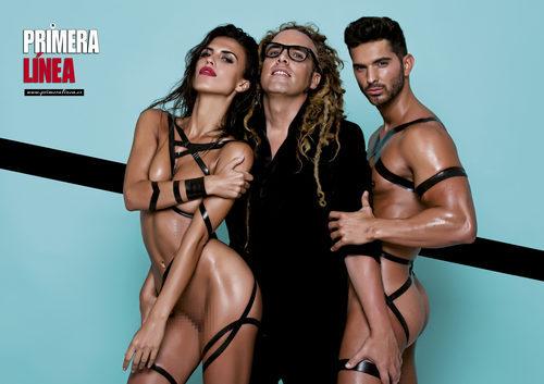 Suso y Sofía ('GH 16') posan desnudos en Primera Línea