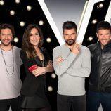 Los cuatro coaches de la quinta edición de 'La Voz'