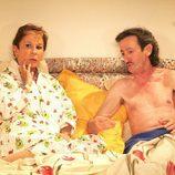 Lina Morgan y Eduardo Gómez, juntos en 'Aquí no hay quien viva'