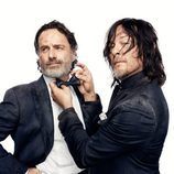 Andrew Lincoln y Norman Reedus, de 'The Walking Dead'
