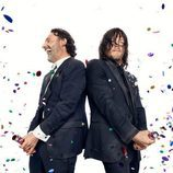 Andrew Lincoln y Norman Reedus celebran los 100 capítulos de 'The Walking Dead'