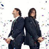 Andrew Lincoln y Norman Reedus celebran los 100 capítulos de 'The Walking Dead'