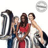 Melissa McBride, Danai Gurira y Lauren Cohan celebran los 100 capítulos de 'The Walking Dead'
