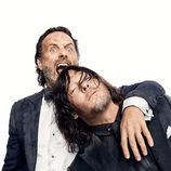 Andrew Lincoln y Norman Reedus juntos por los 100 capítulos de 'The Walking Dead'