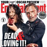 Andrew Lincoln y Norman Reedus ('The Walking Dead') protagonizan la portada de Entertaiment