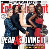 Los protagonistas de 'The Walking Dead' en la portada de Entertaiment
