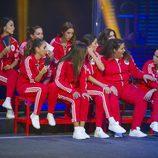 La grada de las chicas en la prueba semanal de 'GH Revolution'