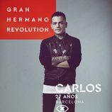 Carlos Bernal, en la imagen promocional de 'GH Revolution'