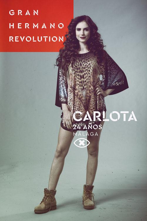 Carlota Prado, en la imagen promocional de 'GH Revolution'