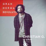 Christian Gabaldón, en la imagen promocional de 'GH Revolution'