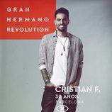 Cristian Fernández, en la imagen promocional de 'GH Revolution'