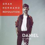 Daniel Sánchez, en la imagen promocional de 'GH Revolution'